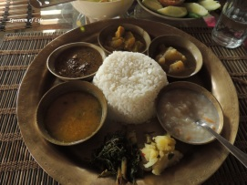 An assamese meal