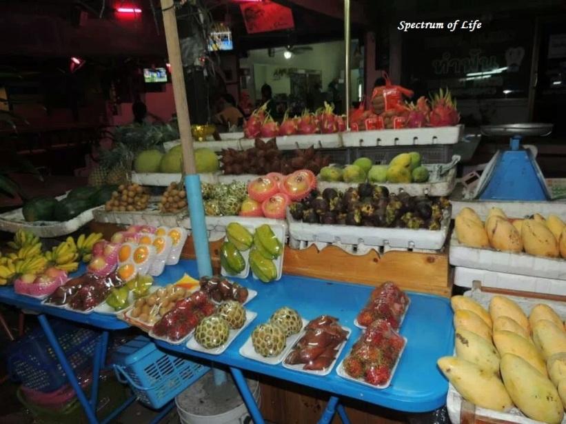 Fruit market in Pattaya