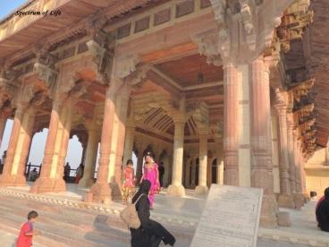 Inside Amer palace