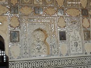 Walls of Sheesh mahal