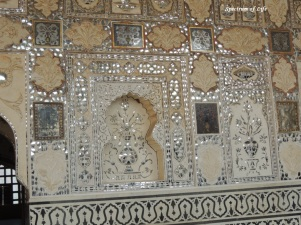 Walls of Sheesh mahal