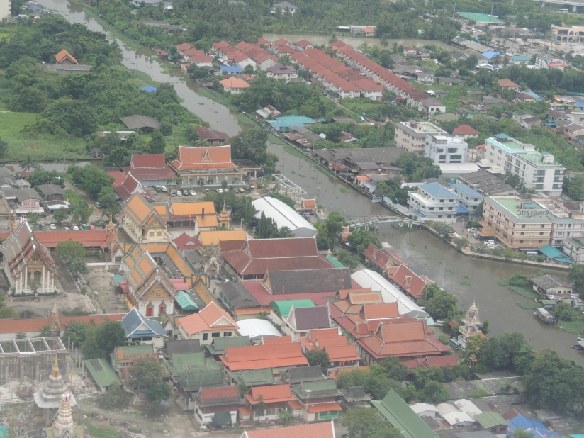 Bankgok....from air (not a bad click !)