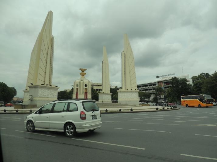 The city of Bangkok