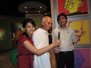 With bapuji