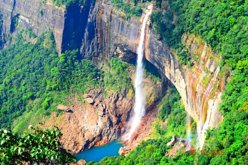 The Nohkalikai falls