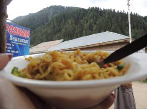 Maggi + Hilly region = Perfect